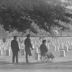 Three Veterans at Arlington Cemetery